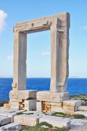 Portara Naxos Island